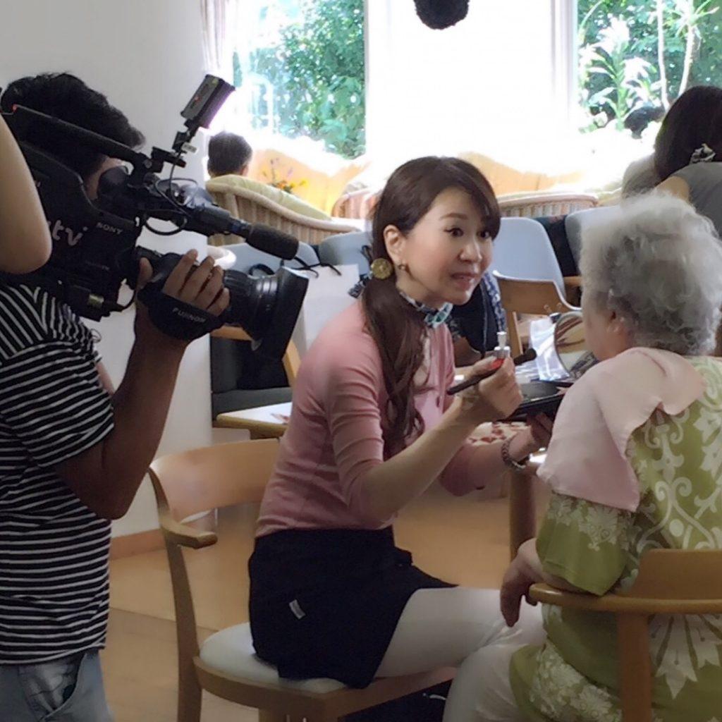2017.8.25放映読売テレビ取材で美魔女と言われて調子に乗った(^^♪